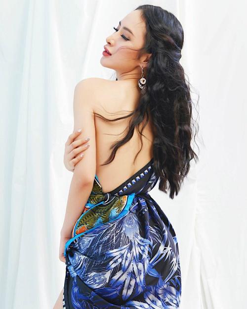 Angela Phương Trinh: Hạnh phúc và tận hưởng, biết ơn vớinhững gì đã, đang có trong cuộc sống này.