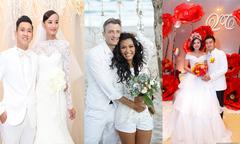 Những sao Việt tự tay trang trí cho 'đám cưới trong mơ'
