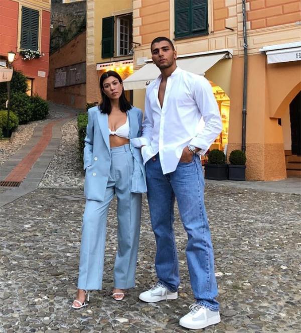 Kourtney Kardashian và Younes Bendjima.