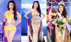 Phan Thị Mơ diễn bikini trước đăng quang Hoa hậu Đại sứ Du lịch Thế giới