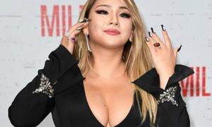CL của 2NE1 khoe bộ ngực 'khủng' do thân hình phát tướng