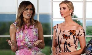 Dự chung sự kiện, Ivanka Trump mặc váy đắt gấp 4 lần mẹ kế