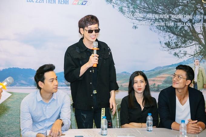 Diễn viên Tuấn Trần cũng có nhiều kỷ niệm khó quên khi phải giả gái trong phim.