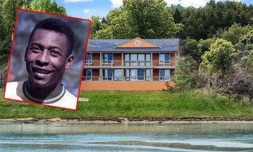 'Vua bóng đá' Pele lãi to khi bán biệt thự