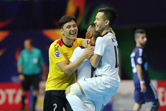 Thắng ngược dòng khó tin, Thái Sơn Nam lập kỳ tích lần đầu vào chung kết châu Á