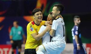 Thắng ngược dòng, Thái Sơn Nam lần đầu vào chung kết futsal châu Á