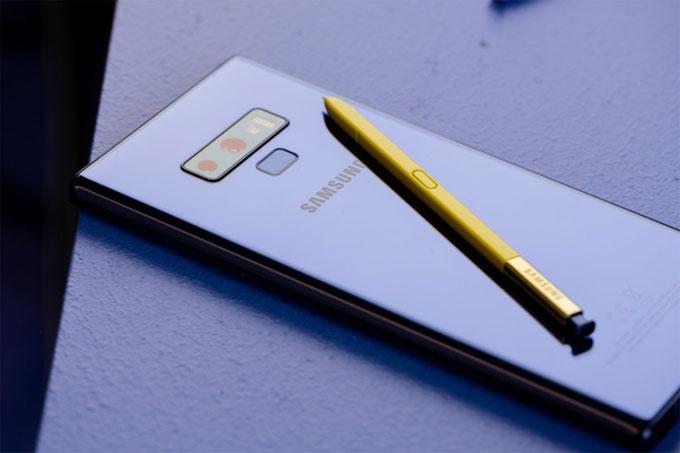 Samsung trình làng Galaxy Note 9
