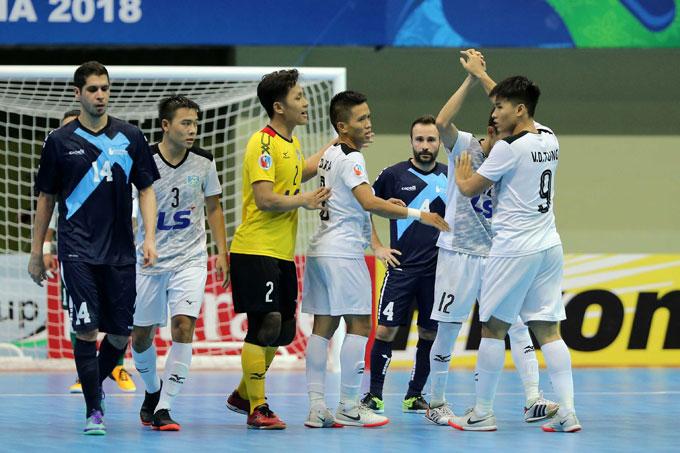 Thắng ngược dòng khó tin, Thái Sơn Nam lập kỳ tích lần đầu vào chung kết châu Á - 1