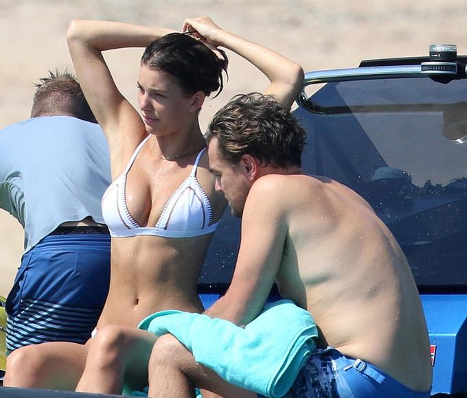 Leo đã dành cả một tuần dài đi chơi với bạn gái kém 22 tuổi ở châu Âu sau khi đóng phim Once Upon a Time in Hollywood tại Los Angeles.