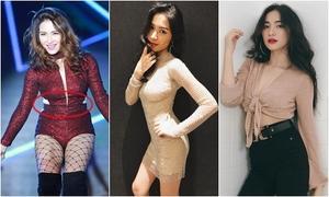 Hòa Minzy tiết lộ bí quyết giảm 10 kg, eo nhỏ hơn Ngọc Trinh