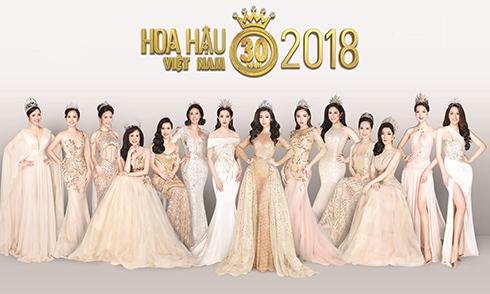 14 Hoa hậu Việt Nam lần đầu hội tụ