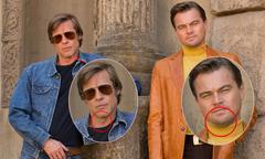 Brad Pitt và Leo DiCaprio hết nếp nhăn, nọng cằm nhờ photoshop 'mạnh tay'