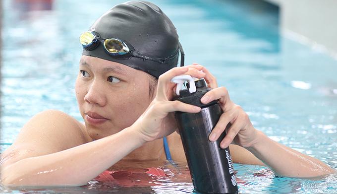 Ánh Viên là một trong những niềm hy vọng huy chương của thể thao Việt Nam tại Asiad. Ảnh: LT.