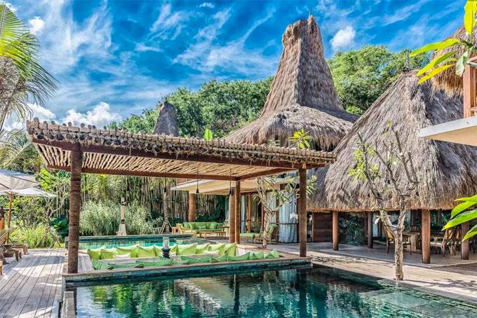 Thiên đường hạ giới, khu nghỉ dưỡng đẹp nhất thế giới là những từ miêu tả về nơi nghỉ dưỡng nhà Becks chọn.