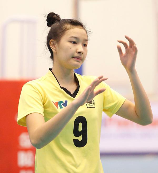 Kim Thanh giành danh hiệu hoa khôi bóng chuyền VTV Cup