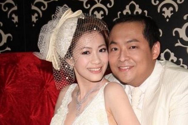 Kha Dĩ Nhu và chồng khi còn hạnh phúc bên nhau.