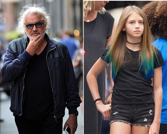 Flavio Briatore đã không được gặp cô con gái Leni suốt 14 năm.