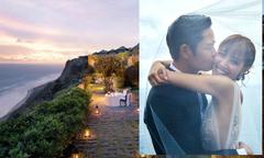 Trịnh Gia Dĩnh và hôn thê chi triệu đô cho đám cưới ở resort 5 sao tại Bali