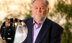 Bố Meghan khẳng định không được nhận thiệp mời đám cưới con gái