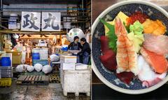 Khu chợ bình dân nhưng bán cá giá triệu USD ở Nhật Bản