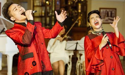 """Thanh Lam, Tùng Dương """"cháy"""" hết mình khi song ca"""