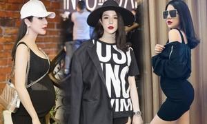 Phong cách thời trang của Diệp Lâm Anh từ khi mang bầu