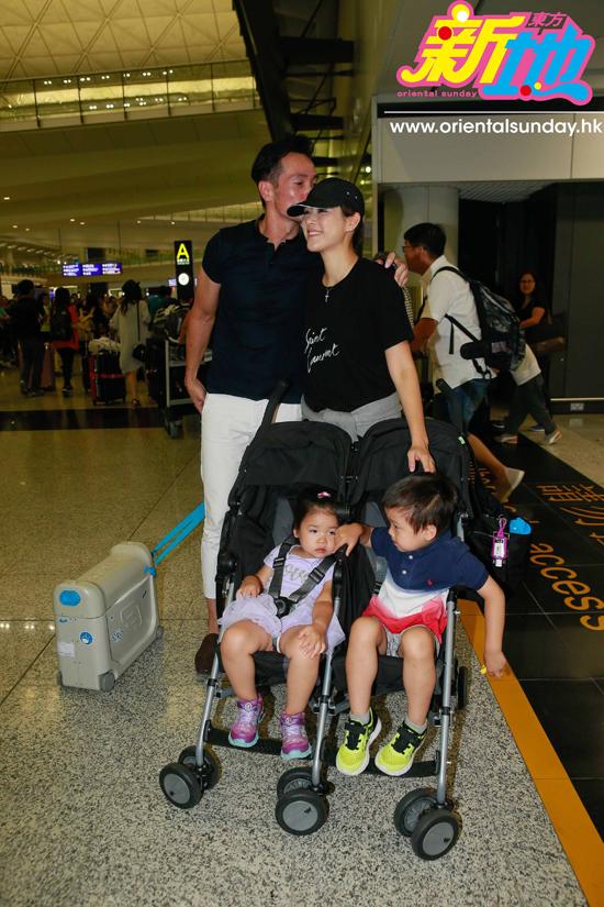 Trần Hào ôm hôn vợ con thắm thiết sau một tháng xa cách - 7
