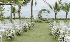 Đám cưới sắc trắng, hồng của uyên ương yêu sau 2 lần gặp gỡ