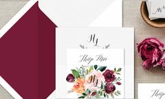 10 mẫu thiệp cưới Forever được ưu chuộng 2018
