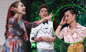 Lâm Khánh Chi nổi đóa với ông xã khi chơi gameshow
