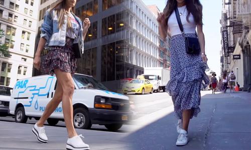 Gợi ý mix 4 kiểu chân váy đa phong cách