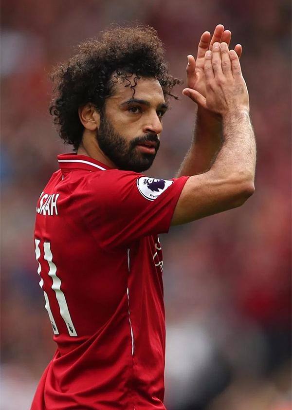 Salah đóng góp một bàn thắng trong chiến thắng 4-0 của Liverpool trước West Ham. Ảnh: Contributor.