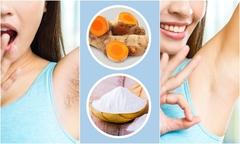 5 cách làm sạch lông vùng nách không cần đến dao cạo