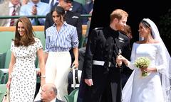 Meghan ngưỡng mộ Kate và muốn thành công chúa từ trước khi quen Harry