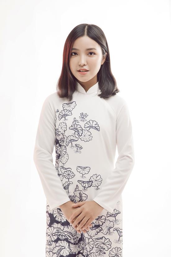 HHen Niê diện áo dài cùng mẫu nhí - 10