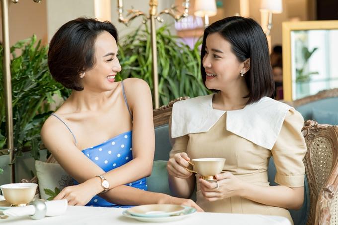 Ngọc Diễm và Cao Thái Hà được sắp xếp ở chung phòng ngày ấy. Kết thúccuộc thi, họ vẫn giữ mối quan hệ thân thiết.Ngọc Diễmkhâm phục ý chí cố gắng của cô sau 10 năm bước chân vào làng giải trí, từ cô gái non nớttrở thành diễn viênđắt show phim ảnh và sự kiện. Riêng Cao Thái Hà vẫn luônmong muốn học hỏi thêm đàn chị về kinh nghiệmkinh doanh.
