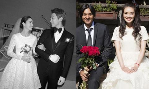 Đám cưới 'giản dị đến không ngờ' của các cặp sao nổi tiếng châu Á