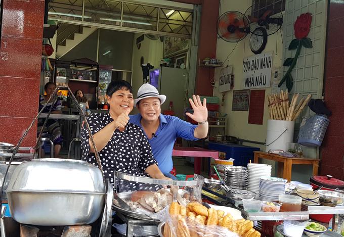Jack Lee rất đam mê ẩm thực Việt.