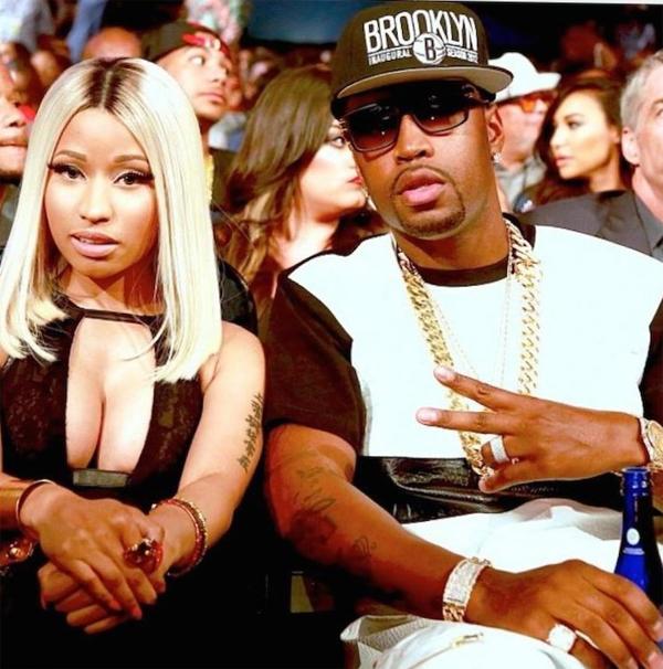 Nicki Minaj và Safaree Samuels thời còn hẹn hò.