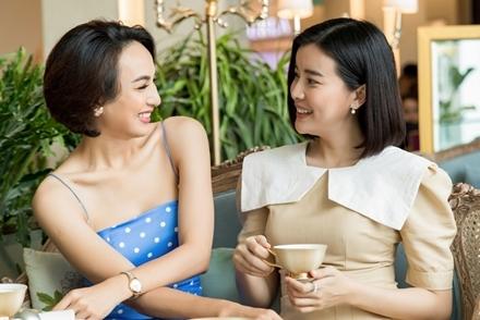 Ngọc Diễm, Cao Thái Hà ôn chuyện thi Hoa hậu Du lịch cách đây 10 năm