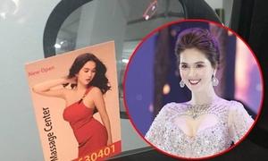 Ngọc Trinh bị dùng hình ảnh quảng cáo dịch vụ massage ở Dubai