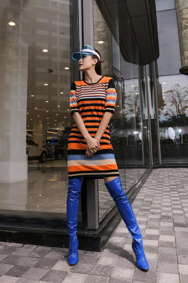 Sao Việt chọn bốt khủng làm điểm nhấn cho phong cách - 10