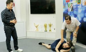 Quang Thắng, Vân Dung tập diễn hài cùng Bằng Kiều