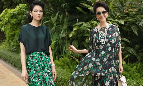 Dàn mỹ nhân 6X, 7X khoe sắc trong váy hoa rực rỡ