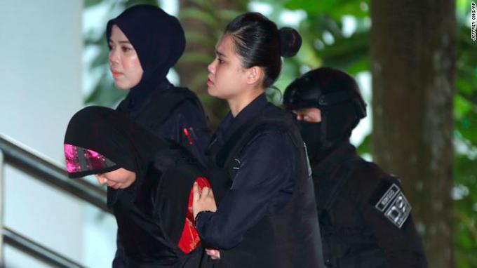 Siti được đưa tới phiên tòa sáng nay (16/8) ở ngoại ô Kuala Lumpur. Ảnh: Jefferry.