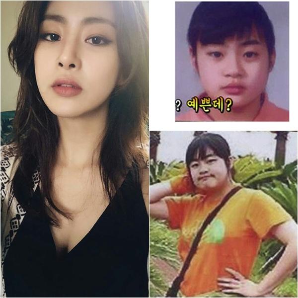 Từng nặng tới 72 kg thời còn đi học, Kang So Ra thường bị nhầm là vận động viên chuyên nghiệp.