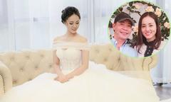 Bạn gái kém 15 tuổi của Công Lý đi thử váy cưới