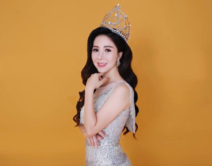 Nữ hoàng đương nhiệm Hồ Lê Minh Châu.