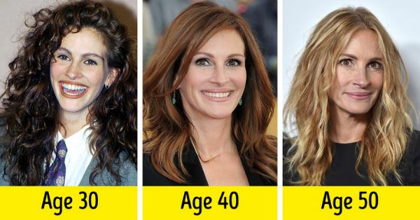 Để cùng một kiểu tóc qua nhiều năm