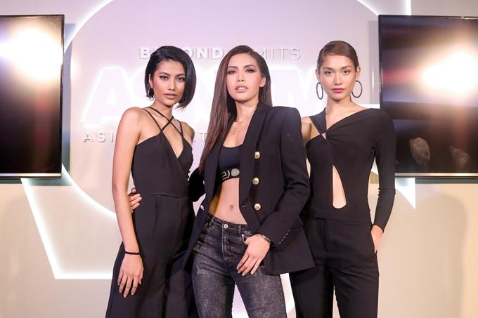 Chân dài hội ngộ hai người bạnShikin và Monika tại sự kiện. Cả ba cũng xuất hiện trên video quảng bá mùa giải thứ 6 cách đây không lâu.